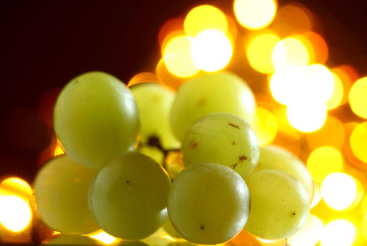 Imagen de racimo de uvas