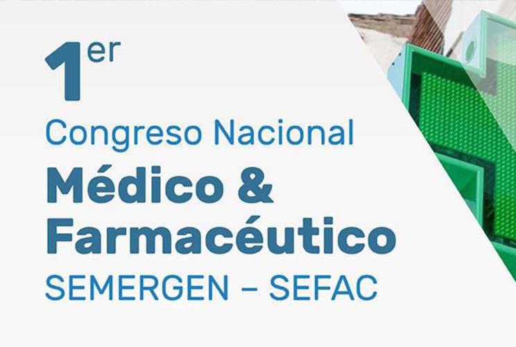 Portada I Congreso Nacional SEFAC-SEMERGEN