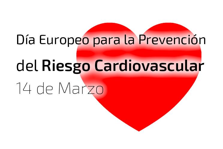 Imagen de ilustración de corazón con el lema Día Europeo de la Prevención del Riesgo Cardiovascular