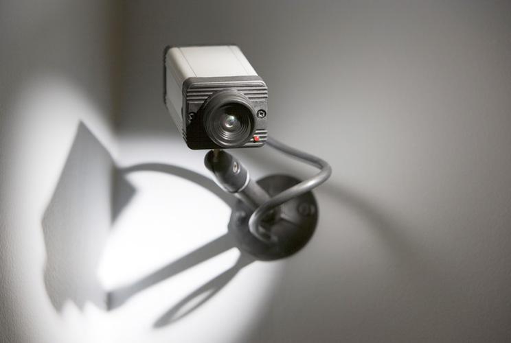 Imagen de una video cámara de vigilancia