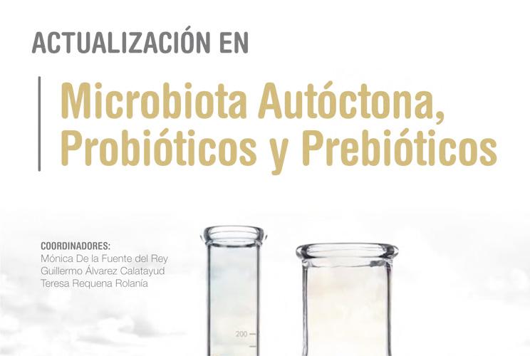 Portada del Curso Online sobre Microbiota, Probióticos y Prebióticos