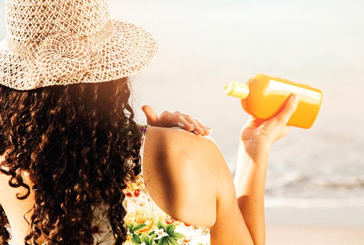 Protección quemaduras solares en verano