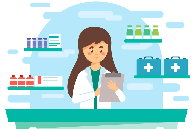 Farmacia comunitaria en el día mundial del farmacéutico