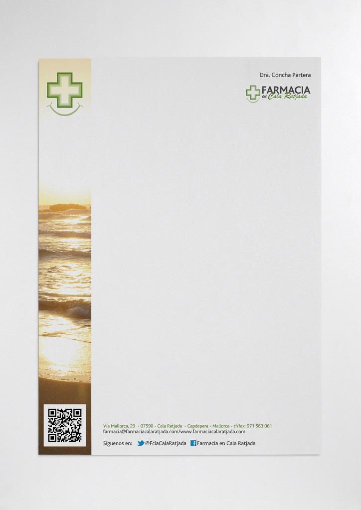 Papel de carta de farmacia.