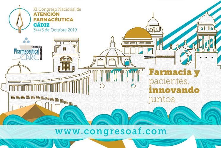 Imagen con portada del congreso con unas ilustraciones