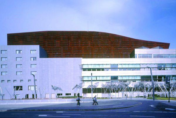 Imagen exterior del Palacio Euskalduna