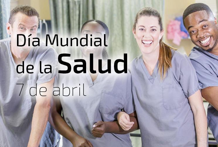 Imagen de unos médicos sonriendo