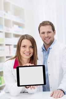 Imagen tablet farmacia