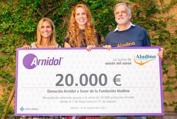Arnidol Fundación Aladina